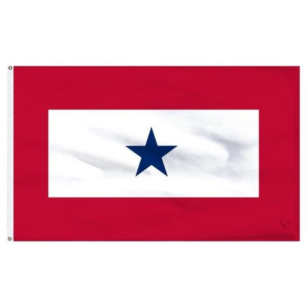 3x5 ft Blue Star Service Flag