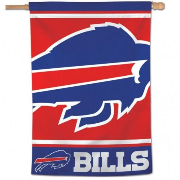 large charging buffalo bills logo with the word