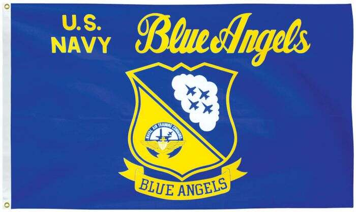 3X5' US Navy Blue Angels Polyester Flag