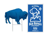 BLUE BUFFALO SHOWN WITH STAKE AND PACKAGE