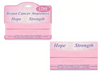 BREAST CANCER 2-PACK BRACELETS