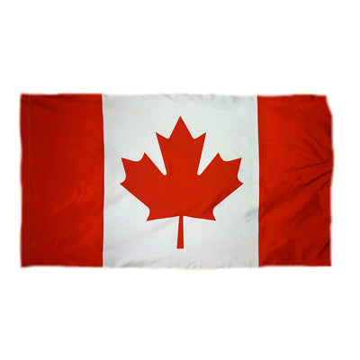 Canada Indoor Flag - No Fringe