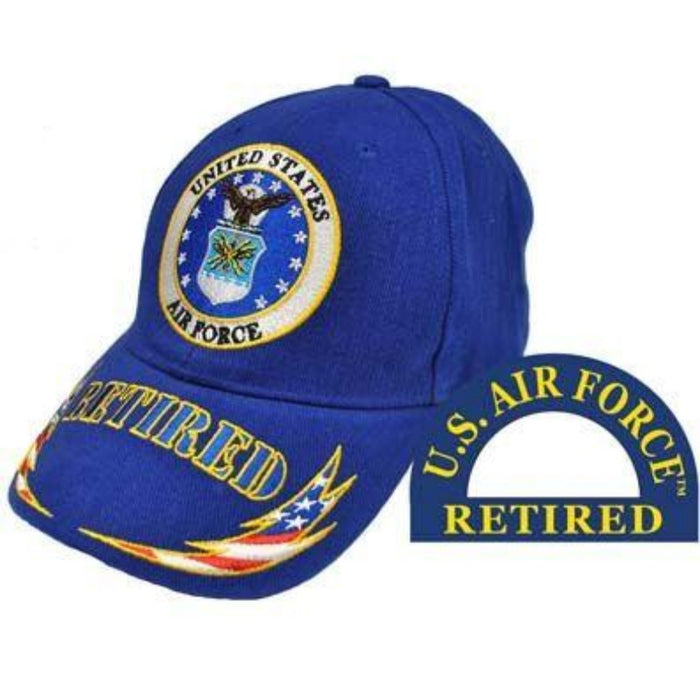 blue hat with the USAF emblem logo and