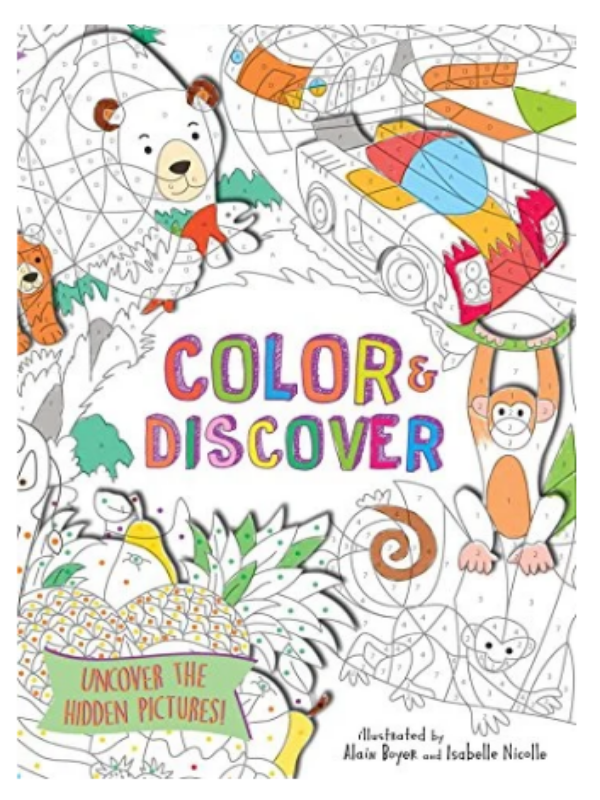 color and discover book