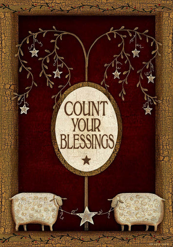 COUNT YOUR BLESSINGS GARDEN