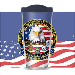 AMERICAN WARRIORS THERMAL CUP