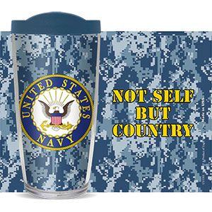 US NAVY CAMO THERMAL MUG