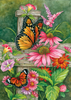 BUTTERFLY FENCE DECORATIVE FLAGS
