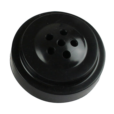 "6 HOLE BLACK PLASTIC BASE FOR 4X6"" FLAGS"
