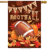 FAMILY & FOOTBALL DECORATIVE FLAGS