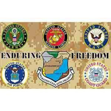 3x5 FT ENDURING FREEDOM POLYESTER FLAG