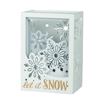 Let It Snow Shadowbox - Winter Gift