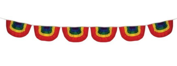 Rainbow Polyester Bunting String
