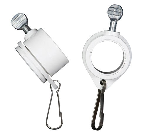 Rotating Flagpole Rings Two Pack
