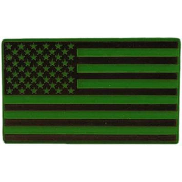 USA FLAG, SUBDUED MAGNET