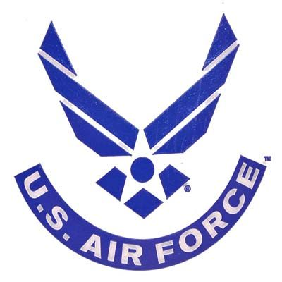 US Air Force Wings Rubber Magnet