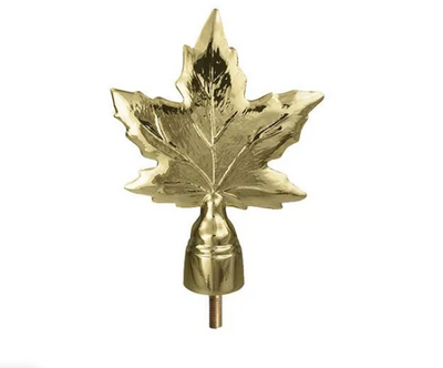 MAPLE LEAF TOPPER WITH FERRULE