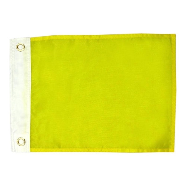 12X18 INCH NYLON QUARANTINE FLAG