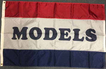 3'x5' Models Nylon Flag