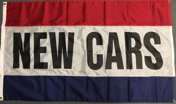 3'x5' New Cars Nylon Flag