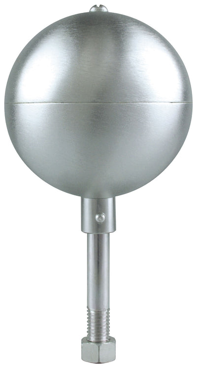 Aluminum Silver Ball for Flagpoles