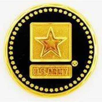 US ARMY STARS LOGO LAPEL PIN