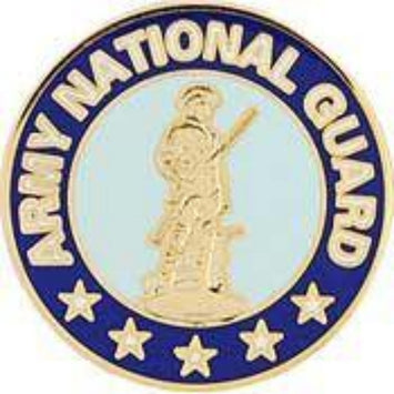 US ARMY NATIONAL GUARD LAPEL PIN (REG)