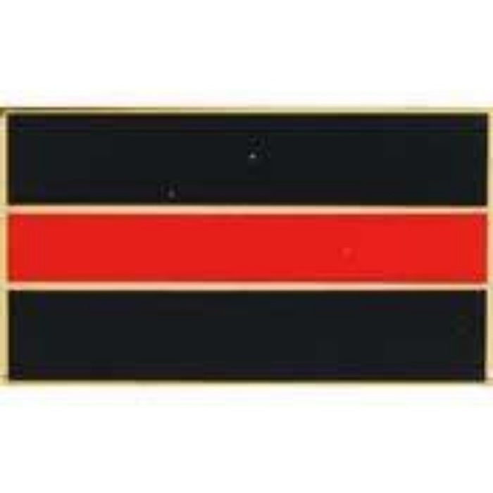 THIN RED LINE LAPEL PIN