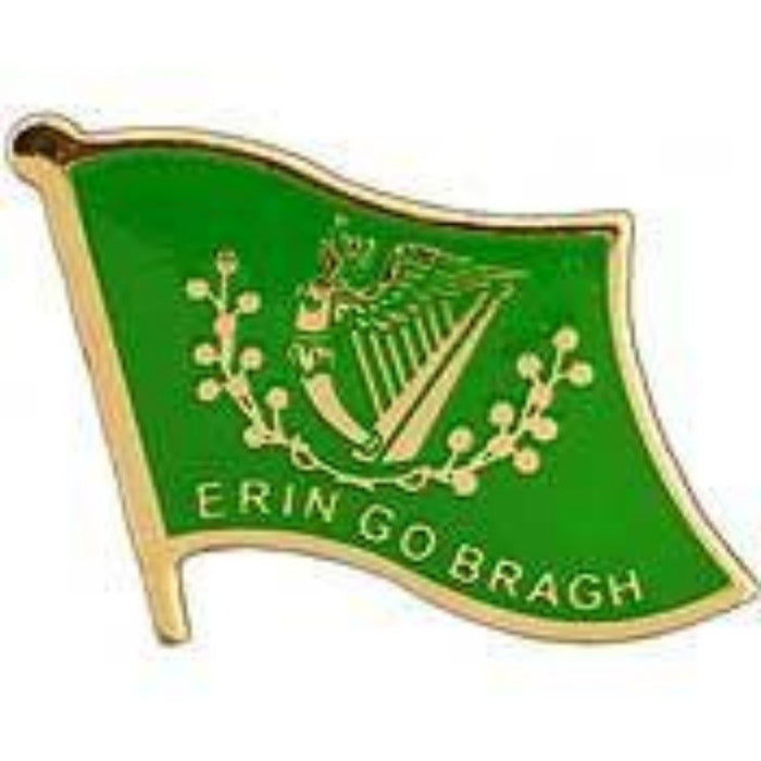 IRISH FLAG LAPEL PIN (ERIN GO BRAGH)