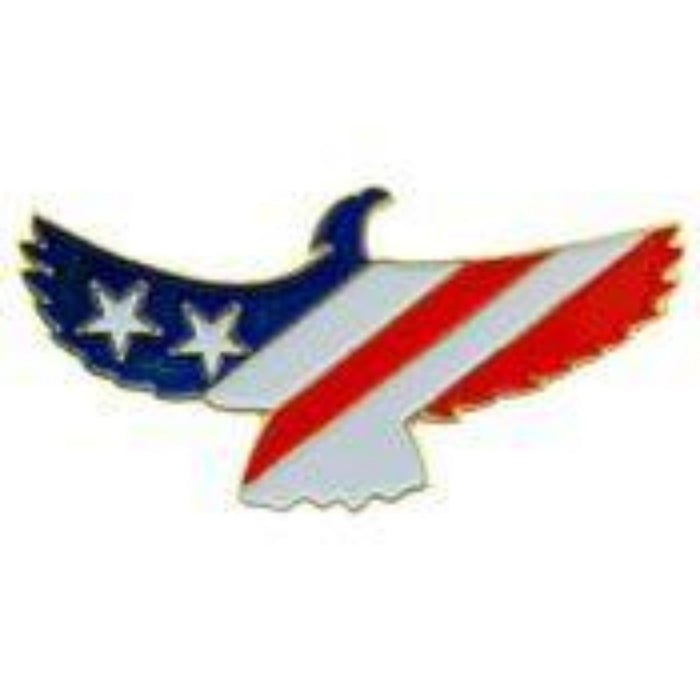 USA PATRIOTIC EAGLE LAPEL PIN