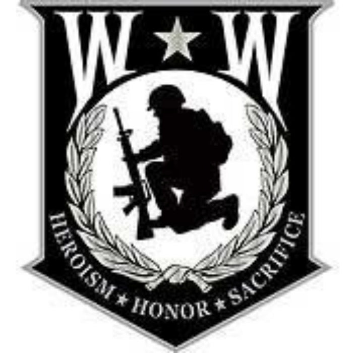 WOUNDED WARRIOR SHIELD LAPEL PIN (Large)