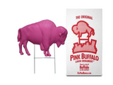 PINK BUFFALO SHOWN WITH STAKE AND PACKAGE