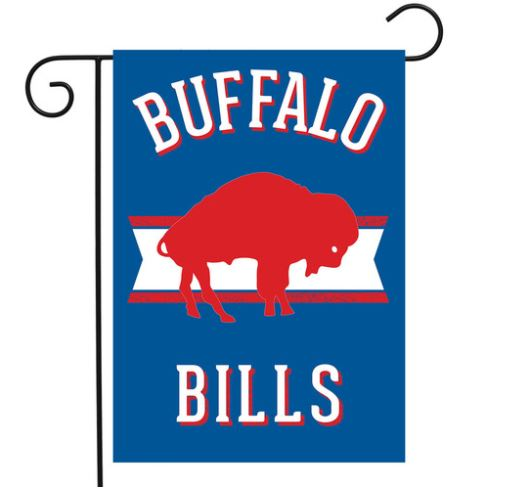 buffalo bills garden flag retro flag