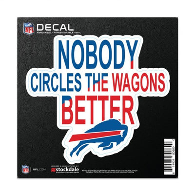 BUFFALO BILLS WAGONS DECAL