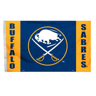 3x5 FT BUFFALO SABRES POLYESTER FLAG