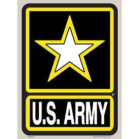 US ARMY OVERSIZED STICKER