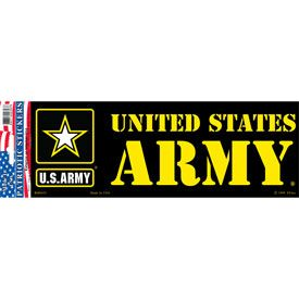 US ARMY BUMPER STICKER