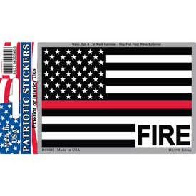 THIN RED LINE US HOLO STICKER