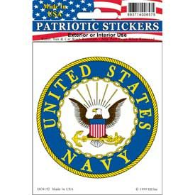 US NAVY CIRCLE SEAL STICKER
