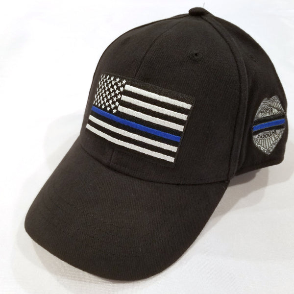 Thin Blue Line Police Support Hat