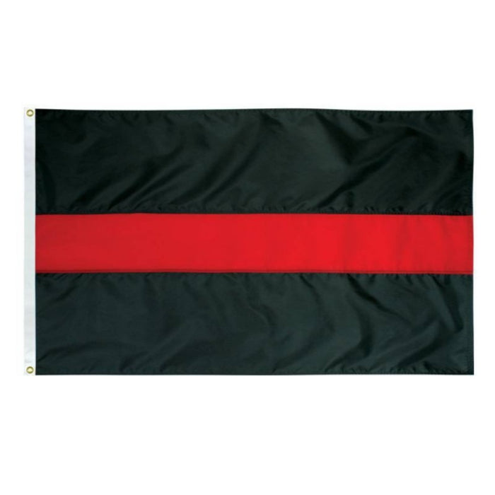 ORIGINAL THIN RED LINE NYLON FLAG