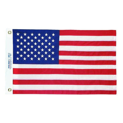 TRADITIONAL AMERICAN FLAG WITH DYED STARS AND STRIPES