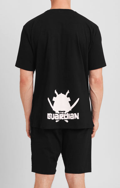 THE GUARDIAN T-SHIRT AND SHORTS SET