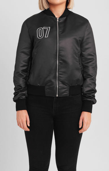 Sons Of the First Tribe | 07 SATIN BOMBER - WOMENS