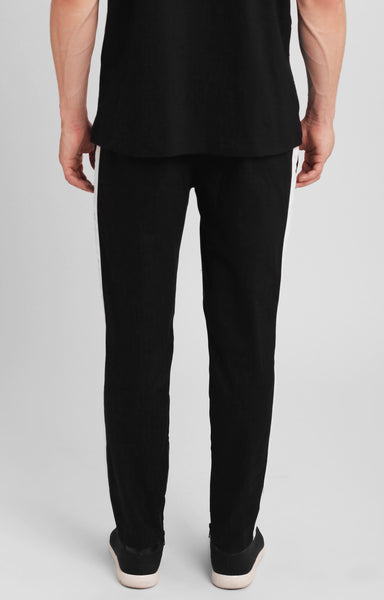MENS CROPPED DRAWSTRING TROUSERS