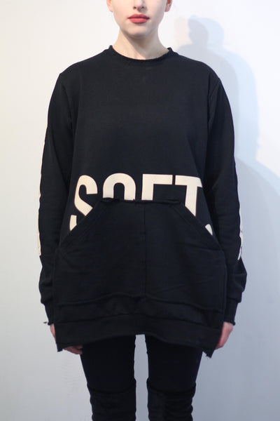 FEMALE DISTRESSED SWEATSHIRT
