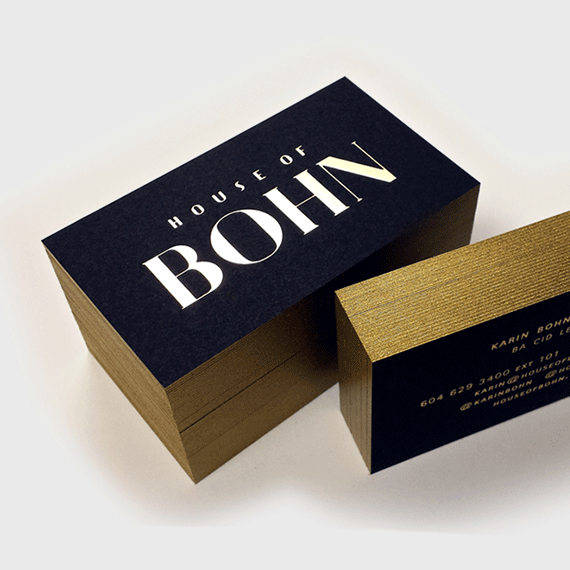 Luxury business cards free shipping fino print luxury business cards reheart Gallery