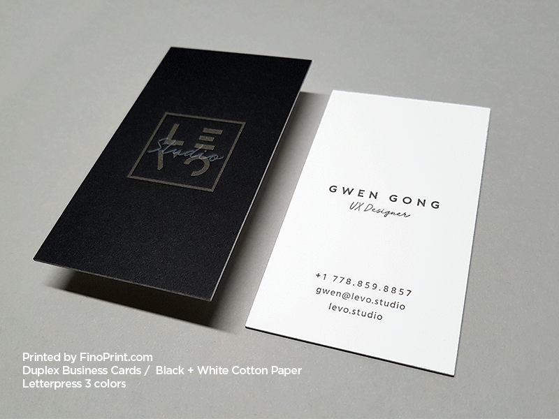 Luxury White Business Card Print Modern calling card Thick Business Card and copper foil business card