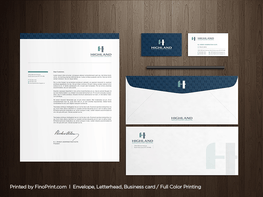 "Letterheads, 8.5"" x 11"", Full-color Printing. Full bleed"