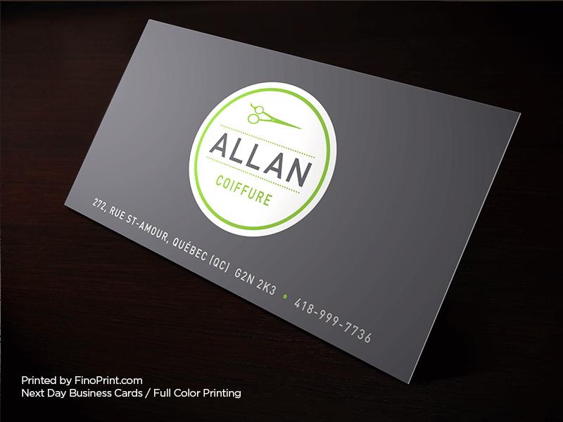 Next Day Business Cards Fino Print